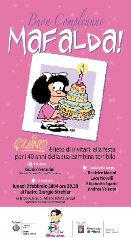 Buon Compleanno Mafalda